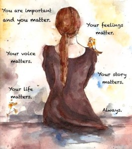 You matters