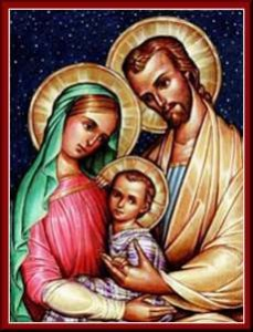 Feast of the Holy Family 2015