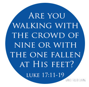 Are You the One of Ten Who Found Salvation?